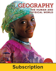 Geography: The Human and Physical World, Student Learning Center, 7-year subscription