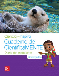 Inspire Science Grade K, Be a Scientist Notebook Spanish