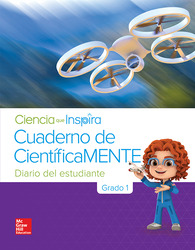 Inspire Science Grade 1, Be a Scientist Notebook Spanish