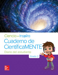 Inspire Science Grade 2, Be a Scientist Notebook Spanish