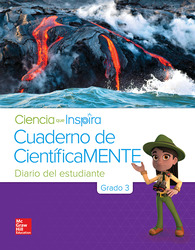 Inspire Science Grade 3, Be a Scientist Notebook Spanish