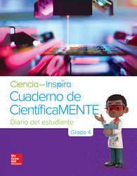 Inspire Science Grade 4, Be a Scientist Notebook Spanish