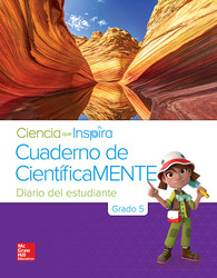 Inspire Science Grade 5, Be a Scientist Notebook Spanish