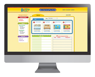 Building Blocks Pre-K, Online Subscription (22 students), 1-year