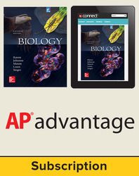 Raven, Biology © 2017, 11e (AP Edition) Student AP advantage Bundle (Student Edition with ONboard™(v2), Connect®, SCOREboard™(v2)), 1-year subscription