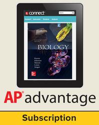 Raven, Biology © 2017, 11e (AP Edition) Student AP advantage Digital Bundle (ONboard™(v2), Connect®, SCOREboard™(v2)), 1-year subscription