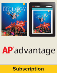 Mader, Biology © 2016, 12e (Reinforced Binding) Student AP advantage Bundle (Student Edition with ONboard™(v2), Connect®, SCOREboard™(v2)), 1-year subscription