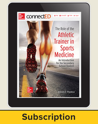 The Role of the Athletic Trainer in Sports Medicine: An Introduction for the Secondary School Student, Online Student Edition, 1-year subscription