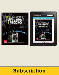 Shier, Hole's Essentials of Human Anatomy and Physiology, High School Ed © 2018, 1e, Standard Student Bundle with APR (Student Edition with Connect®), 6-year subscription
