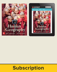 Malinowski, Human Geography 2013, 1e, Student Print & Digital Bundle (SE w ONboard (v2) and Connect), 1-year subscription