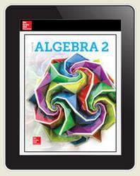 Glencoe Algebra 2 2018, Student Bundle w/ ISG (1 YR Print + 1 YR ISG + 1 YR Digital), 1-year subscription