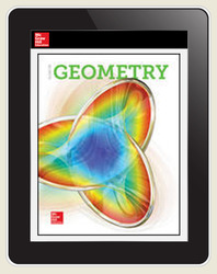 Glencoe Geometry 2018, Student Bundle w/ ISG (1YR Print + 1YR ISG + 1YR Digital), 1-year subscription