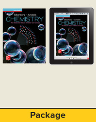 Silberberg, Chemistry: The Molecular Nature of Matter and Change © 2018, 8e (Reinforced Binding) Student Bundle (Student Edtion with ConnectED eBook), 6-year subscription