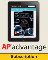 Silberberg, Chemistry: The Molecular Nature of Matter and Change © 2018, 8e (Reinforced Binding) AP advantage Digital Bundle (ONboard™(v2), Connect®, SCOREboard™(v2)), 6-year subscription