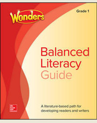 Wonders Balanced Literacy Grade 1 Unit 5 Student Edition