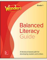 Wonders Balanced Literacy Grade 1 Unit 5 Student Edition
