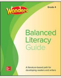 Wonders Balanced Literacy Grade 4 Unit 5 Student Edition