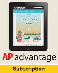 Harrison, American Democracy Now © 2017, 5e (AP Edition) AP Advantage Digital Bundle (ONboard(v2), Connect®, SCOREboard(v2)), 6-year subscription