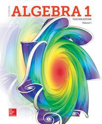 Algebra 1 2018, Teacher Edition, Volume 1