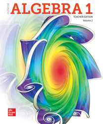 Algebra 1 2018, Teacher Edition, Volume 2