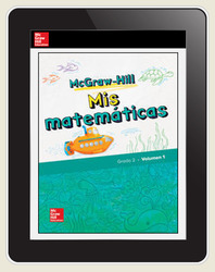 McGraw-Hill My Math, Grade 2, Spanish Student Center 1 Year Subscription