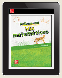 McGraw-Hill My Math, Grade 4, Spanish Student Center 1 Year Subscription