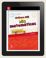 McGraw-Hill My Math, Grade 1, Spanish Student Center 5 Year Subscription
