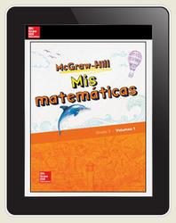 McGraw-Hill My Math, Grade 3, Spanish Student Center 6 Year Subscription
