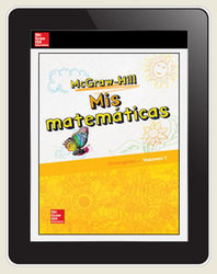 McGraw-Hill My Math, Grade K, Spanish Student Center 6 Year Subscription