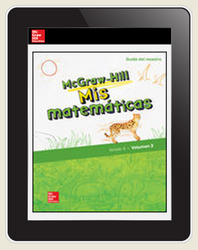 McGraw-Hill My Math, Grade 4, Spanish Teacher Center 5 Year Subscription