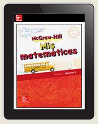 McGraw-Hill My Math, Grade 1, Spanish Teacher Center 6 Year Subscription