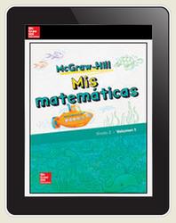 McGraw-Hill My Math, Grade 2, Spanish Teacher Center 1 Year Subscription
