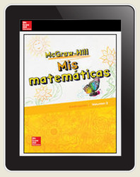 McGraw-Hill My Math, Grade K, Spanish Teacher Center 1 Year Subscription