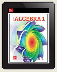 Glencoe Algebra 1 ©2018, XP Student Bundle (SE + XP Digital), 6-year subscription