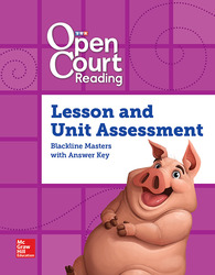 Open Court Reading Grade 4, Word Analysis Kit Assessment BLM with Answer Key