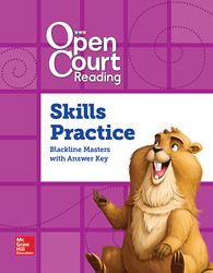 Open Court Reading Grade 4, Word Analysis Kit Skills Practice BLM with Answer Key