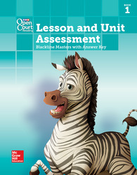 Open Court Reading Grade 5, Lesson and Unit Assessment BLMs with Answer Key, Book 1