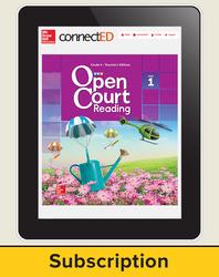 Open Court Reading Grade 4 Teacher License, 1-year subscription