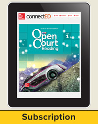 Open Court Reading Grade 5 Teacher License, 1-year subscription