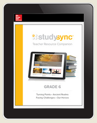 StudySync ELA Grades 6-12 Student Subscription, 3-years