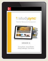 StudySync ELA Grades 6-12 Student Subscription, 6-years