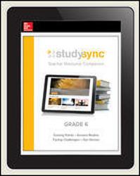 StudySync ELA Grades 6-12, Teacher Subscription, 3-years