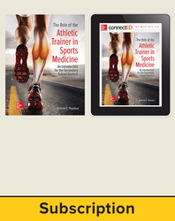 The Role of the Athletic Trainer in Sports Medicine: An Introduction for the Secondary School Student, Student Bundle (Student Edition with eBook), 6-year subscription