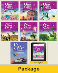 Open Court Reading Grade 4, Digital and Print Teacher Edition Bundle, 6-year subscription