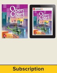 Open Court Reading Grade 4 Student Digital and Print Standard Bundle, 6-year subscription