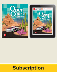 Open Court Reading Grade 5 Student Digital and Print Standard Bundle, 6-year subscription