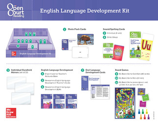 Open Court Reading Grades K-5, English Language Development Kit