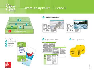 Open Court Reading Grade 5, Word Analysis Kit