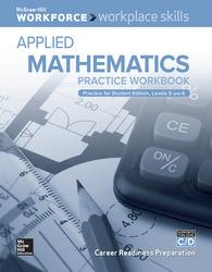 Workplace Skills Practice Workbook, Levels C/D, Applied Mathematics, 10-pack