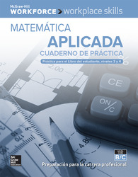 Workplace Skills Practice Workbook, Levels B/C, Applied Mathematics (Spanish Edition), 10-pack